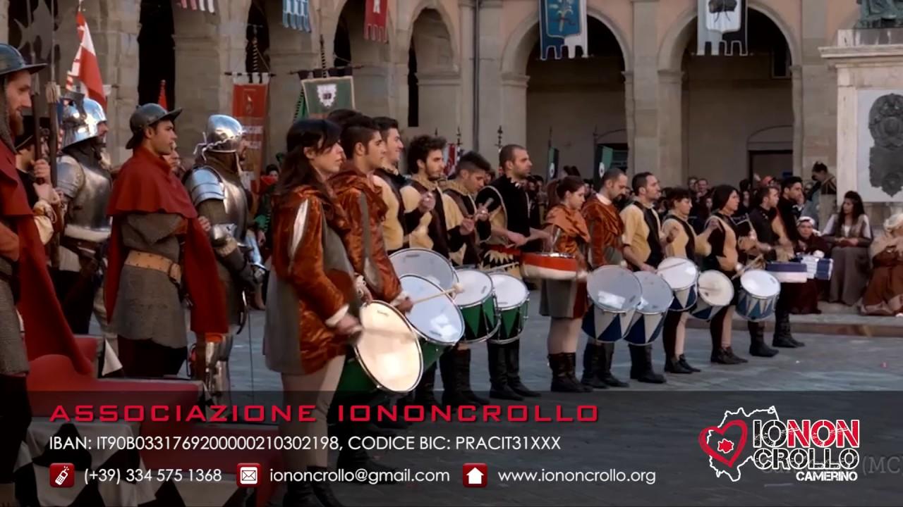 Jury Chechi per IoNonCrollo - Camerino (MC) - Sisma Centro Italia