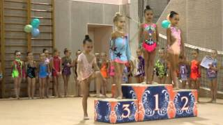 Награждение дети. Художественная гимнастика