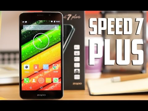 Zopo Speed 7 Plus, review en español