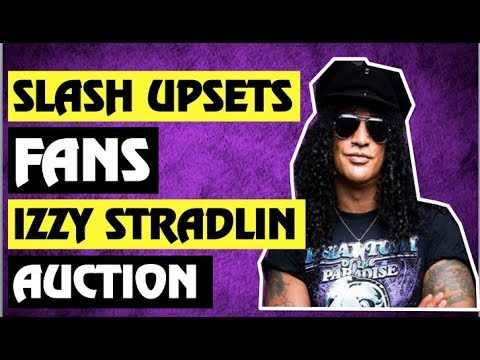 Guns N' Roses News: Slash Upsets Some Fans & Izzy Stradlin Item Up For Auction