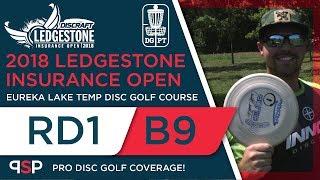 Round One 2018 Ledgestone Insurance Open - Back 9 | Locastro, Gurthie, Patton, Sexton
