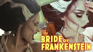 Bride Of Frankenstein Rick Baker Inspired Halloween Tutorial