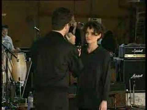 George Michael & Lisa Stansfield rehearsals of TATDOOL