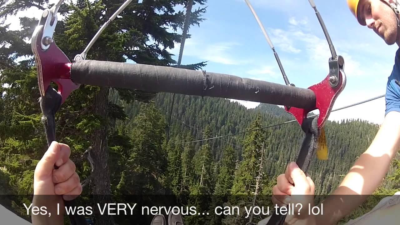 Tomos Grouse Mountain Zipline