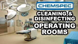 Detergent Free Cleaning (DFC) - Cleaning and Disinfecting Hospitals, Operating Rooms