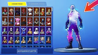VOICI ALL FORTNITE SKINS ON 1 ONLY COMPTE. 😍 (1800 ITEM)