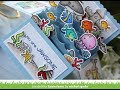 Lawn Fawn | Under the Sea Birthday Scalloped Box Card Pop Up