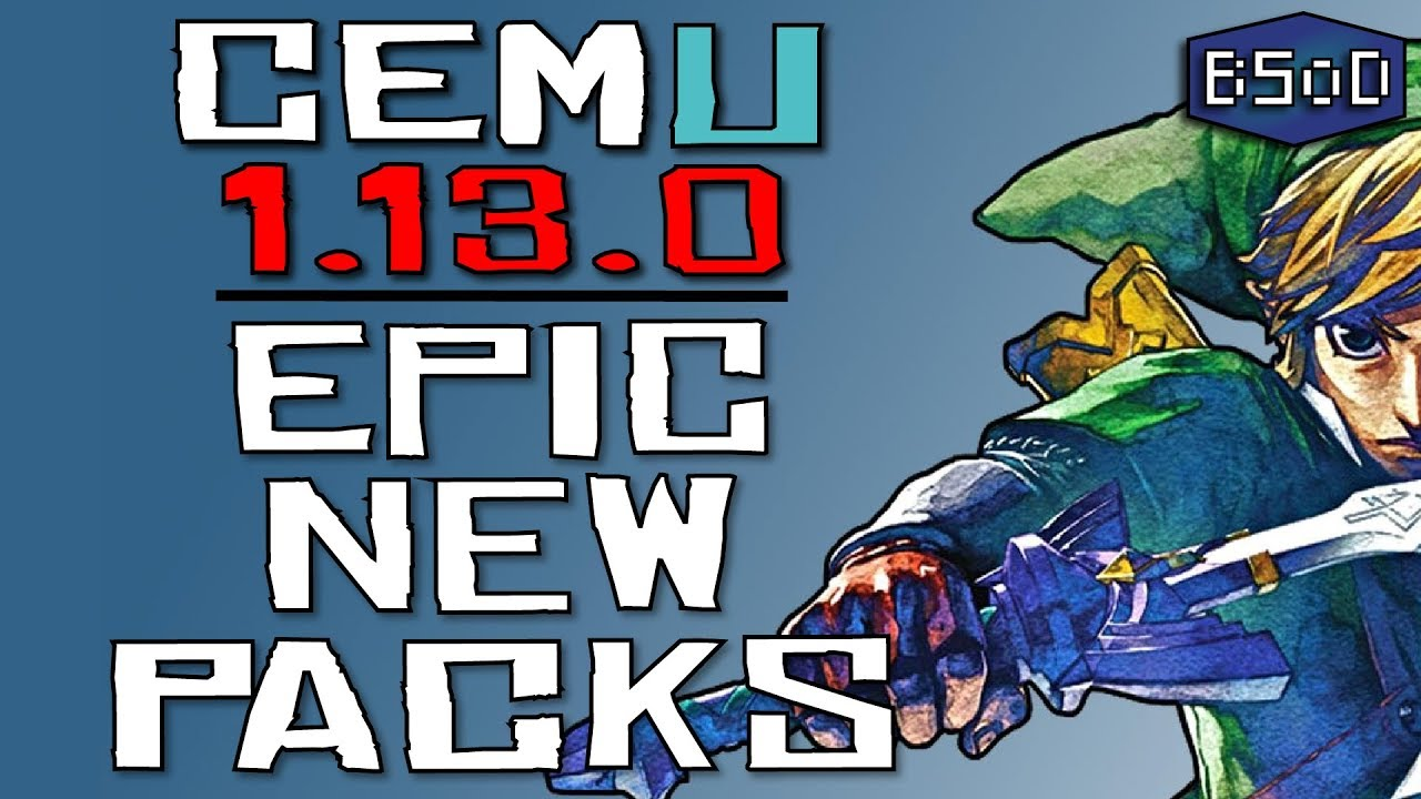 The BEST New Feature of Cemu 1 13 0 - Epic Graphics Pack Upgrade
