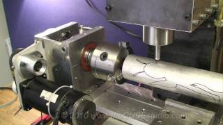 New Super Duty 4th Axis Rotary Engraving on mini-machining center