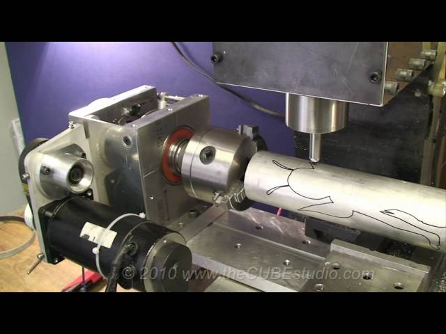 4th axis for the BF20 Mill | TTek