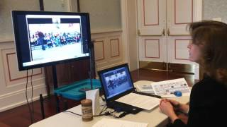 Musical Images of Indiana - videoconference intro