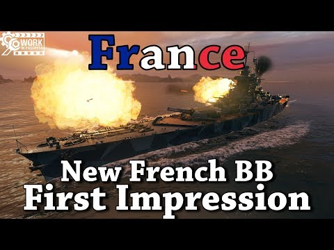 World of Warships: France First Impression