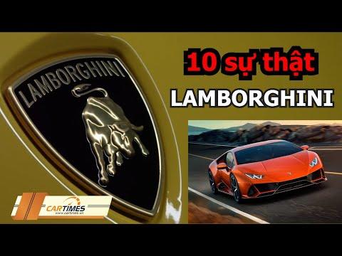 10 sự thật về hãng siêu xe Lamborghini khiến bạn bất ngờ