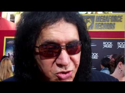 """Gene Simmons at the """"Rock of Ages"""" premiere"""