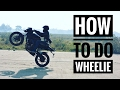 How to do wheelie (Pulsar NS 200) | Power Wheelie | Action camera view
