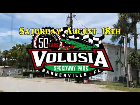 Volusia Speedway Park August 18th, 2018 Promo video