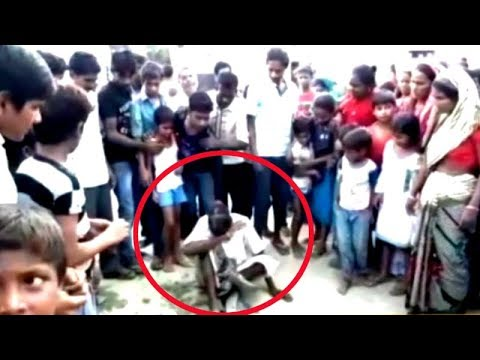 Man thrashed, paraded with garland of slippers for trying to rape minor girl