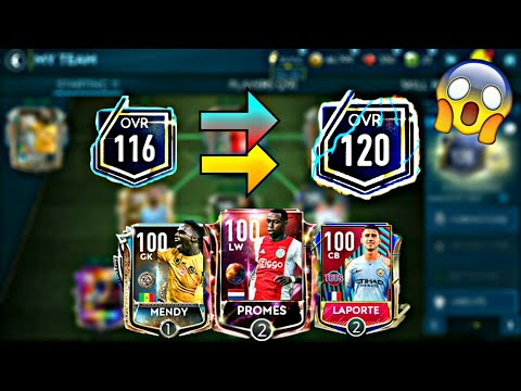 FIFA MOBILE 19 BEST TEAM UPGRADE | 116 OVR TO 120 OVR | HOW TO DO THE LAST UPGRADE BEFORE RESET