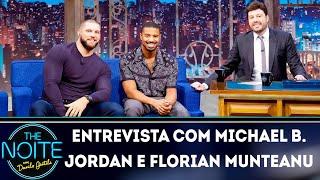 Baixar Entrevista com Michael B. Jordan e Florian Munteanu | The Noite (12/12/18)