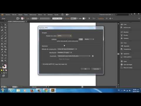 Cómo guardar un archivo de Adobe Illustrator CS6 en JPEG