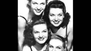 TIS AUTUMN ~ The Four King Sisters  1941.wmv