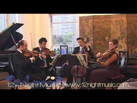 Handel - Bourree - 12th Night Music, String Quartet