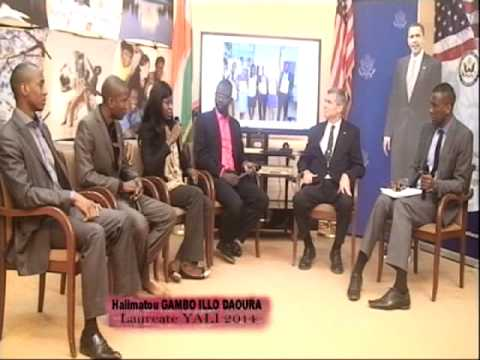 2014 YALI Fellows from Niger