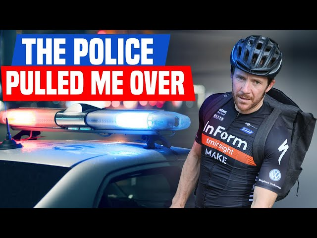 Why I got Pulled Over During Training (week 2)