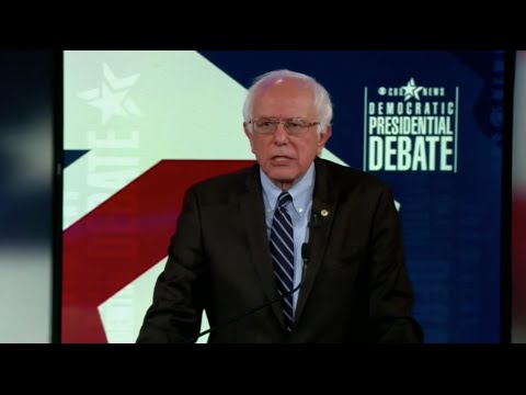 CBS News Democratic Debate | Bernie Sanders
