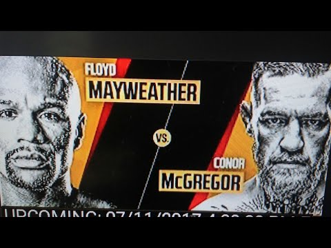 Mayweather vs. McGregor: Los Angeles Press Conference HERE FIRST!