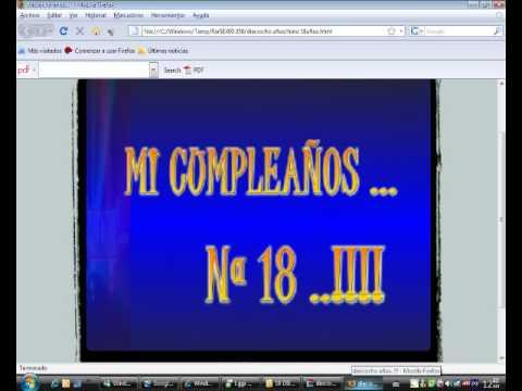 Video De La Invitacion 18 Años Diego Kubaz Youtube