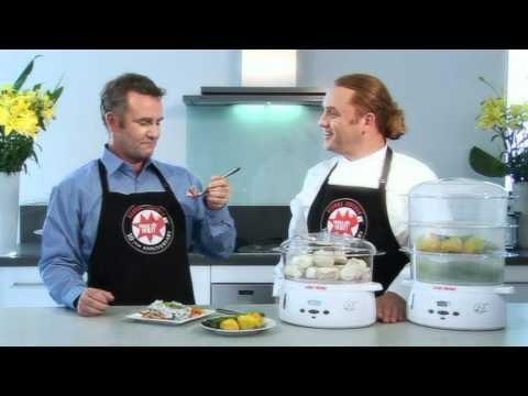 George Foreman GF3TSM Food Steamer