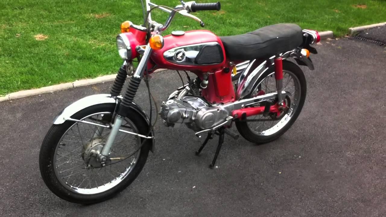 Honda SS 50cc - YouTube