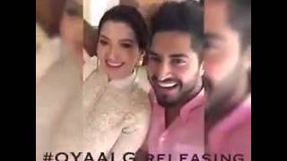 jassi gill and gauhar khan at jhalander for promotion