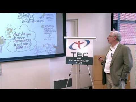 TEC World Leaders Series : Steve Blank Presents his New Book!