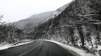 Зимний отдых в Болгарии. Аренда автомобиля и дороги в Болгарии. Из Пловдив в Банско.