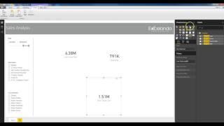 Excelando - كيفية إنشاء لوحة القيادة في الطاقة BI