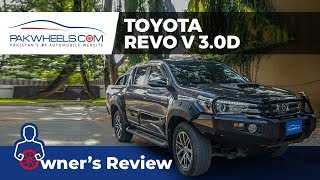Toyota Hilux Revo 2017 Owner's Review: Specs & Features | PakWheels Video