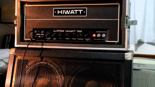 The David Gilmour Amp: Hiwatt Dr-103 - built in 1972 - rare!