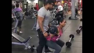 workout got sensual  crazy