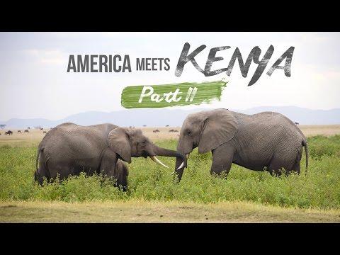 America Meets Kenya | Part 2 | Ol Tukai, Amboseli National Park