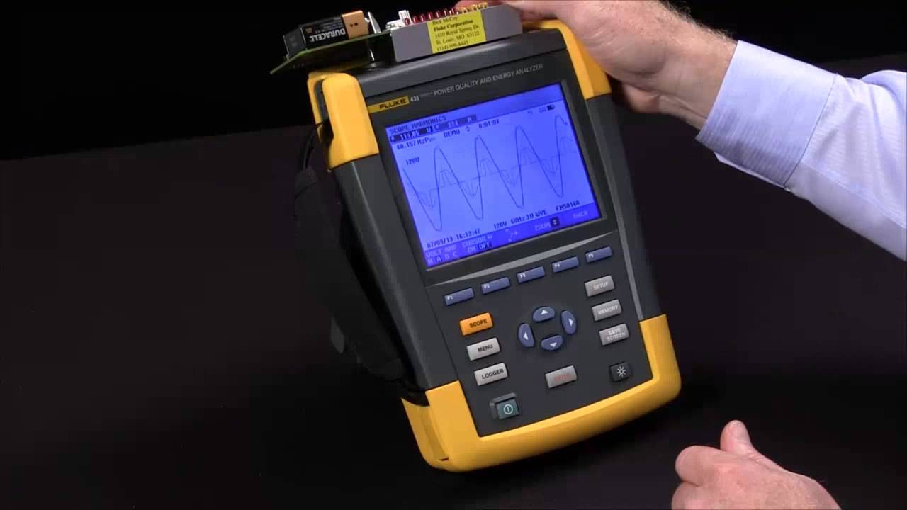 Network Analyzer And Harmonic : How to use a harmonics test in fluke power quality
