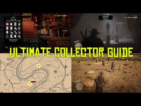 Red Dead Online Ultimate Collector Guide, How To Make Money With The Collector