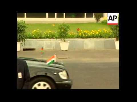 Afghan leader arrives for visit