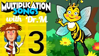 Multiplication Song 3 with Dr. M - The Kingdom of the Queen Bee | Muffin Songs