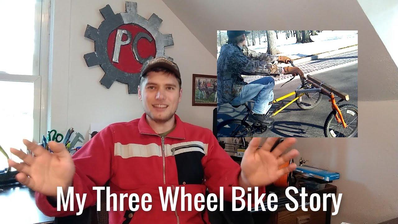 My Homemade Three Wheel Bikes Story