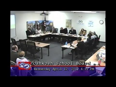Oshkosh Oshkosh Board of Education - 4/12/2017