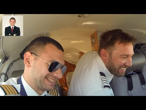 LIFE AS A BUSINESS JET PILOT. PART 1