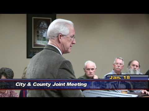 Special City / County Meeting, January 18 2017