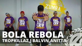Download BOLA REBOLA by Tropkillaz,J. Balvin,Anitta | Zumba | TML Crew Kramer Pastrana Mp3 and Videos